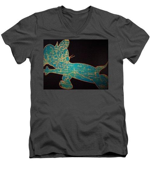 A Golden Touch Men's V-Neck T-Shirt