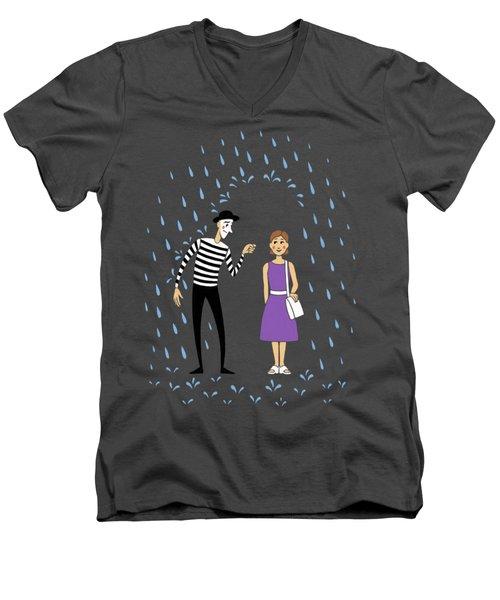 A Helping Hand Men's V-Neck T-Shirt