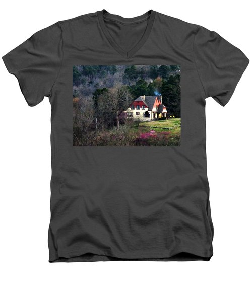 A Home In The Country Men's V-Neck T-Shirt