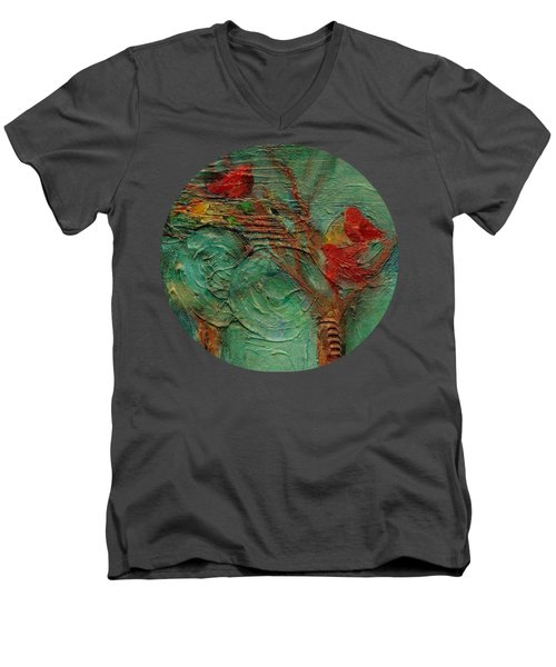 A Home In The Woods Men's V-Neck T-Shirt