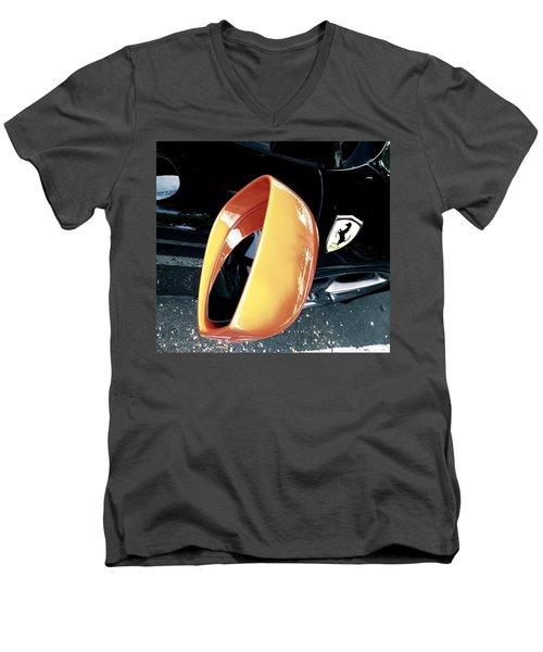 A Horse Men's V-Neck T-Shirt by Carolina Liechtenstein