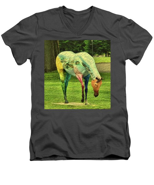 A Horse Is A Horse Men's V-Neck T-Shirt