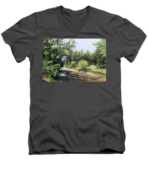 A Last Drink Men's V-Neck T-Shirt