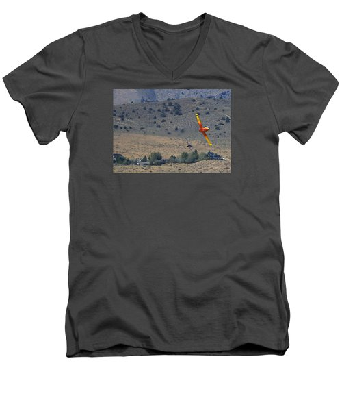 A Little Afternoon Fun Men's V-Neck T-Shirt
