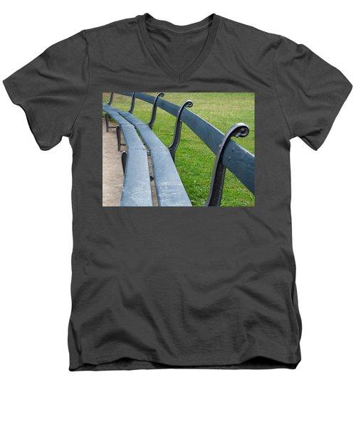 A Long Sit Down Men's V-Neck T-Shirt