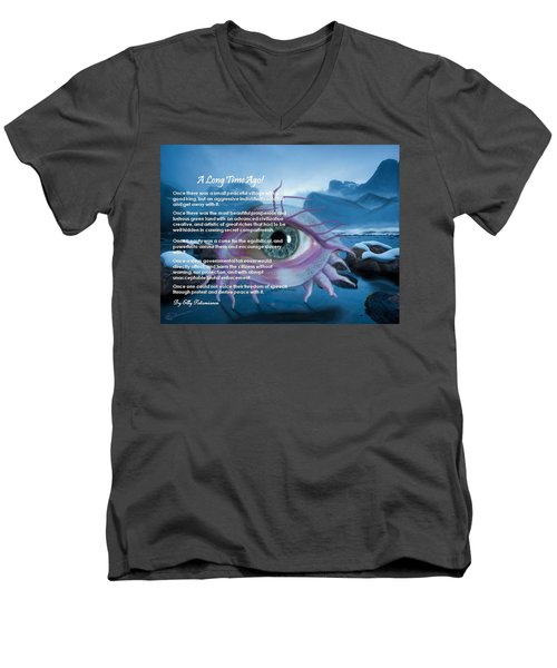 A Long Time Ago Men's V-Neck T-Shirt