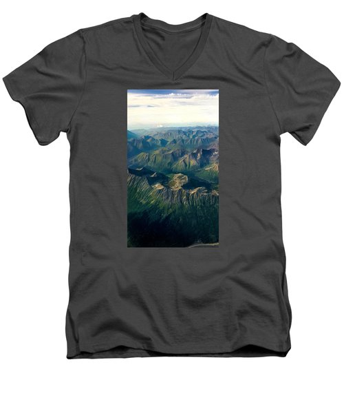 A Look Below Men's V-Neck T-Shirt