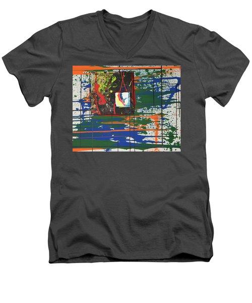 A Manic Depressive Named Laughing Boy Men's V-Neck T-Shirt