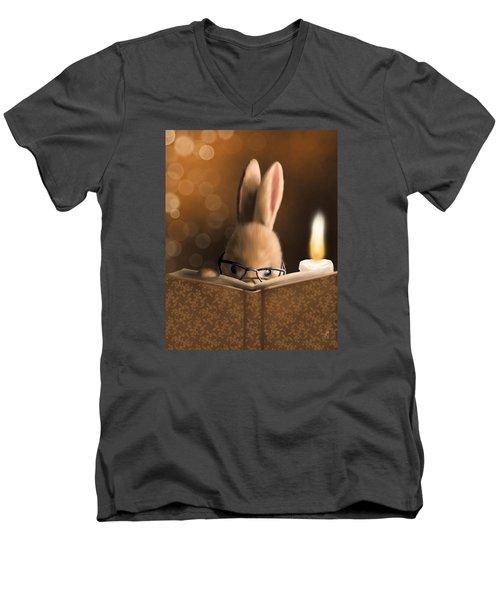 A Mystery Story Men's V-Neck T-Shirt