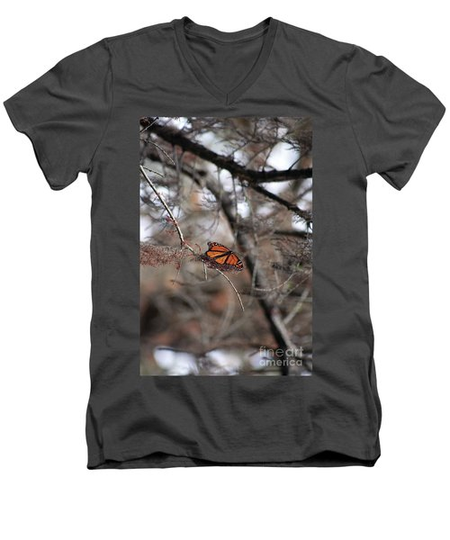 A Monarch For Granny Men's V-Neck T-Shirt