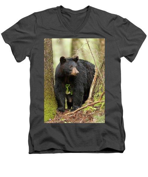 A Mothers Love Men's V-Neck T-Shirt