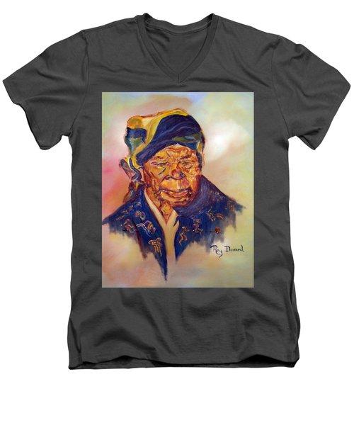 A Mothers Pride Men's V-Neck T-Shirt