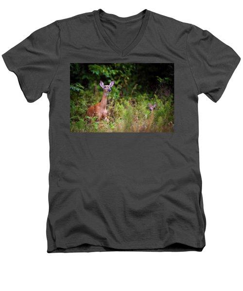 A Mother's Vigilance Men's V-Neck T-Shirt