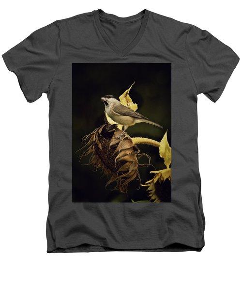 A Mouthful Men's V-Neck T-Shirt