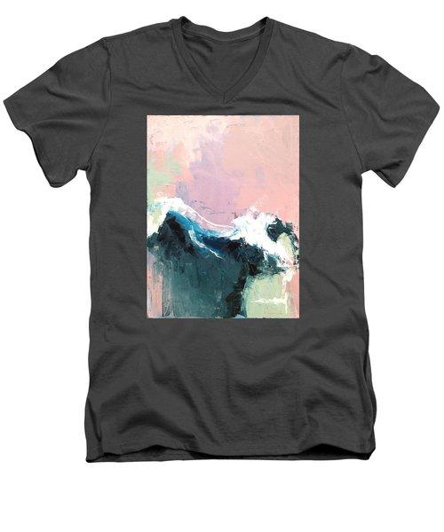 A New Dawn Men's V-Neck T-Shirt by Nathan Rhoads