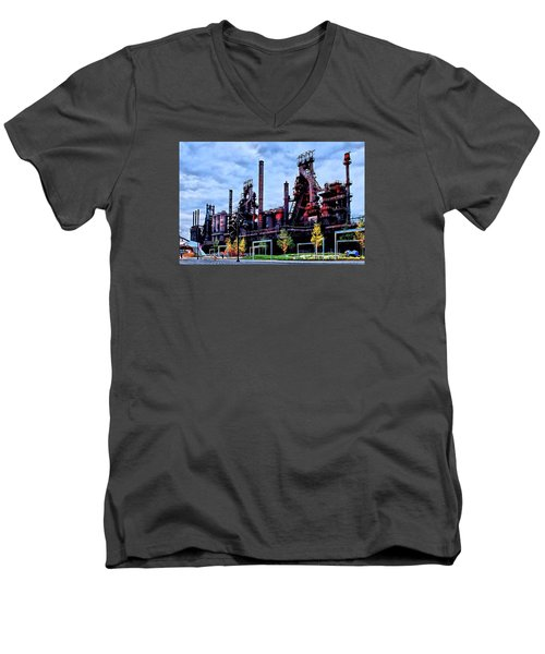 A New Era - Bethlehem Pa Men's V-Neck T-Shirt