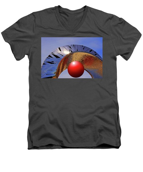 Men's V-Neck T-Shirt featuring the photograph A New Horizon by Christopher McKenzie