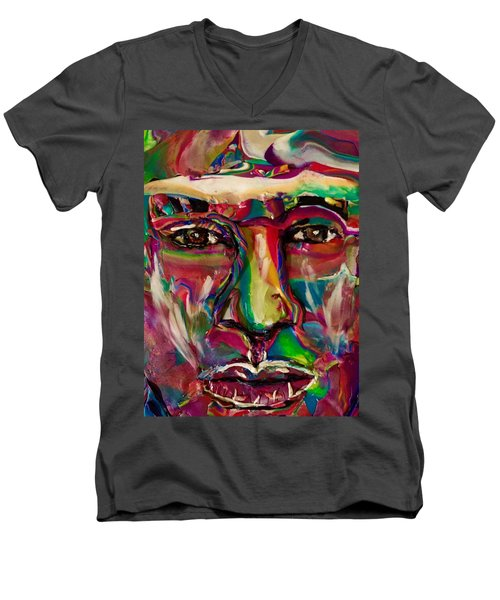 A New Man Men's V-Neck T-Shirt
