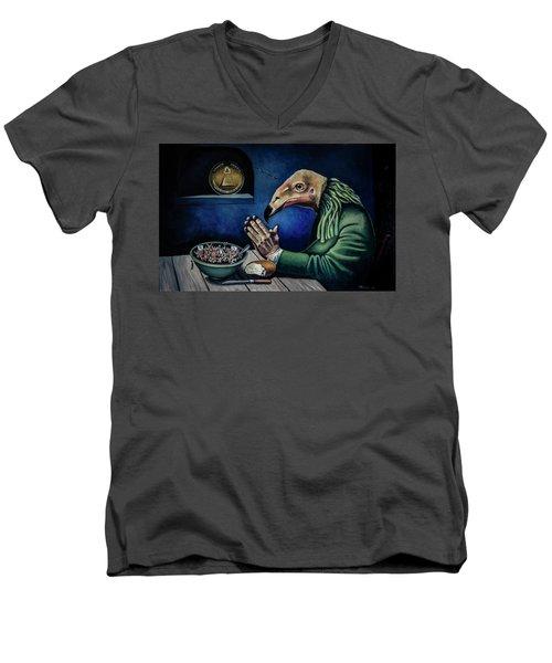 A New Order Men's V-Neck T-Shirt
