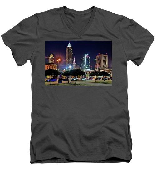 A New View Men's V-Neck T-Shirt