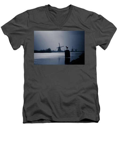 A Nice View Men's V-Neck T-Shirt