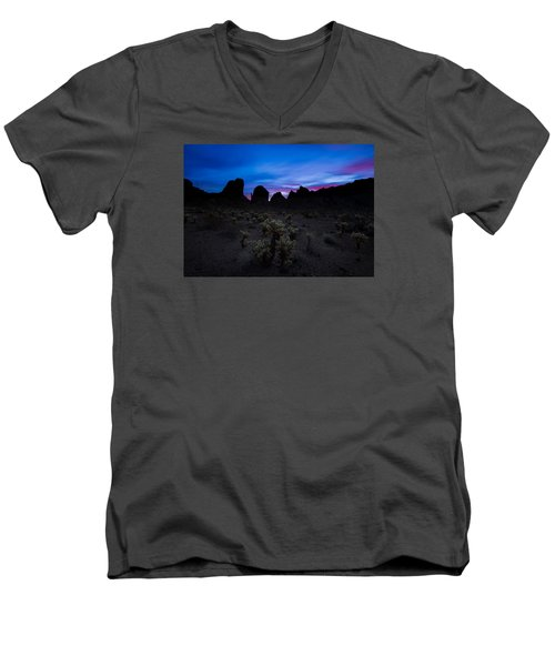 A Nights Dream  Men's V-Neck T-Shirt by Tassanee Angiolillo