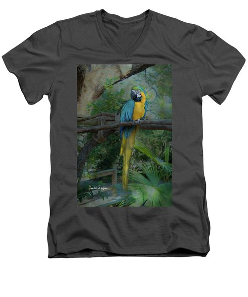 A Parrot's Life Men's V-Neck T-Shirt