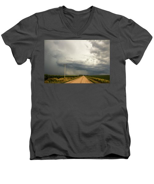 A Passion For Shelf Clouds 001 Men's V-Neck T-Shirt