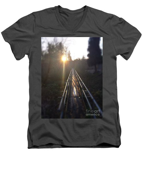 A Path Into The Unknown Men's V-Neck T-Shirt