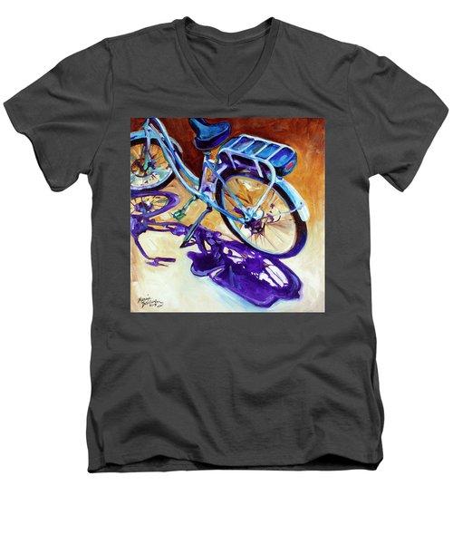 A Pedego Cruiser Bike Men's V-Neck T-Shirt