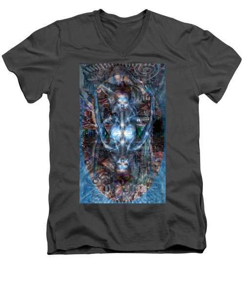 A Perfect Balance Men's V-Neck T-Shirt