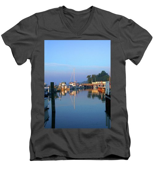 A Perfect Tawas Morning Men's V-Neck T-Shirt