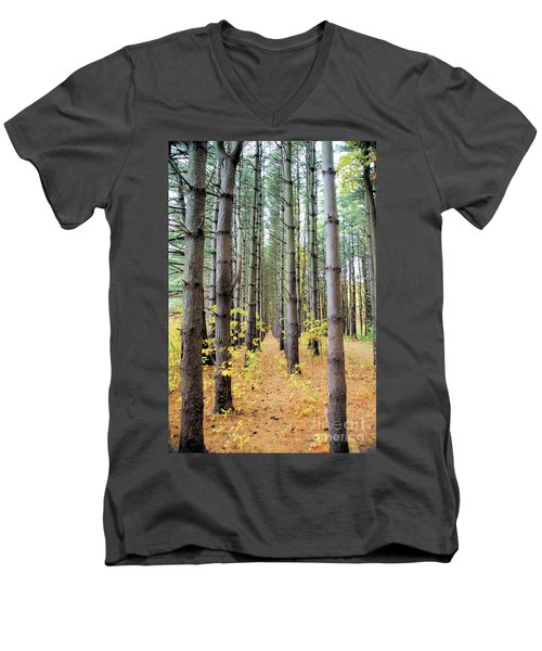A Pines Army Men's V-Neck T-Shirt