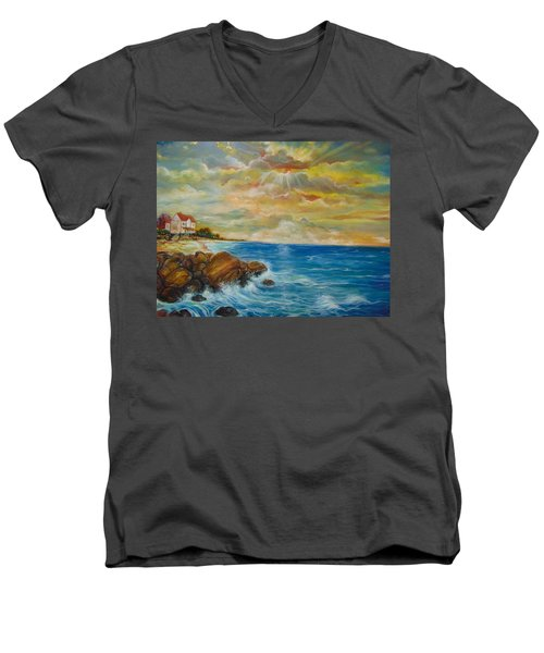 A Place In My Dreams Men's V-Neck T-Shirt by Emery Franklin
