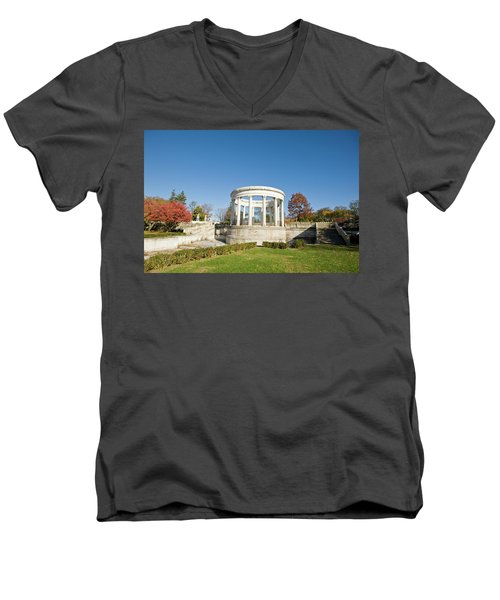A Place Of Peace Men's V-Neck T-Shirt by Jose Rojas