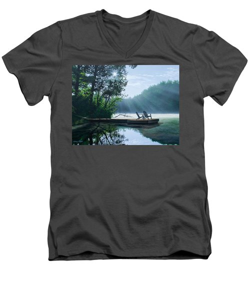 A Place To Ponder Men's V-Neck T-Shirt