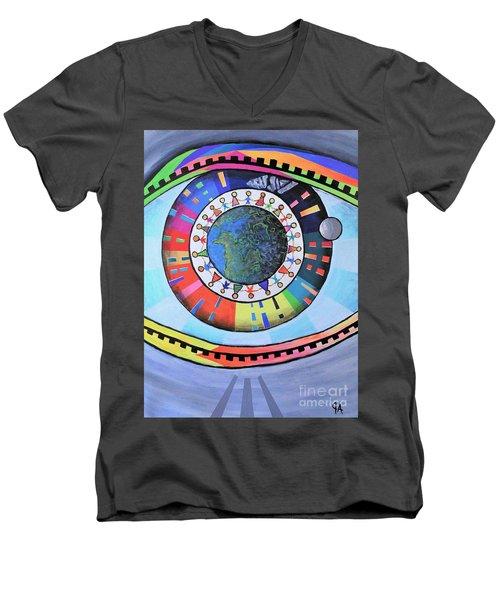 A Pleasant Fiction Men's V-Neck T-Shirt