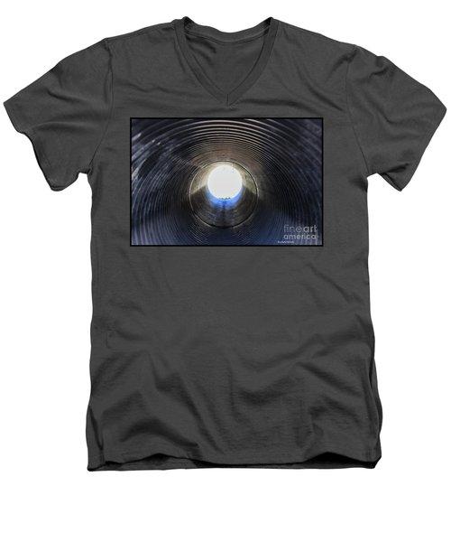 A Portal Of Light Men's V-Neck T-Shirt