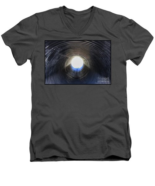 A Portal Of Light Men's V-Neck T-Shirt by Roberta Byram