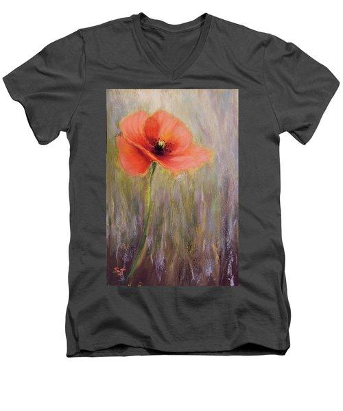 A Precious Moment Men's V-Neck T-Shirt