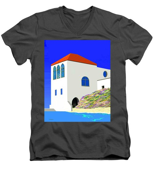 A Private Beach Men's V-Neck T-Shirt