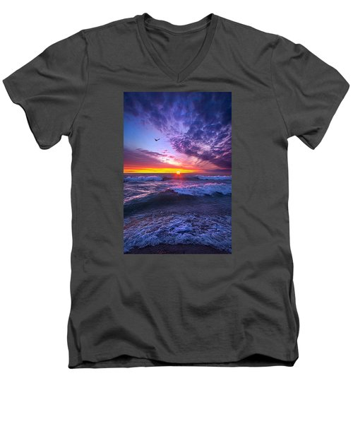 A Promise Of The Future Men's V-Neck T-Shirt