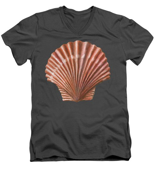 A Quincunx Of Scallop Shells Men's V-Neck T-Shirt