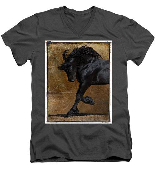 A Regal Bow Men's V-Neck T-Shirt