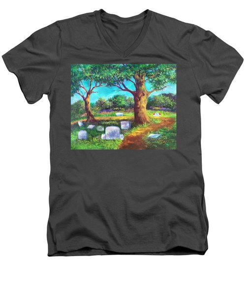 A Remembrance Men's V-Neck T-Shirt