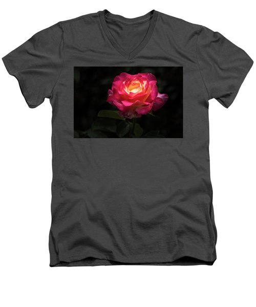 A Rose For Love Men's V-Neck T-Shirt