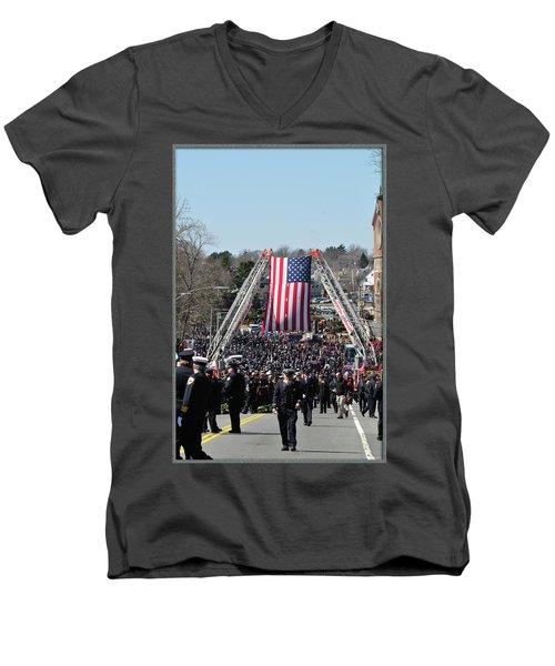 A Sad Day. Men's V-Neck T-Shirt