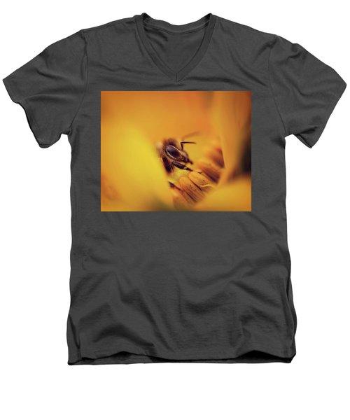 A Sea Of Yellow Men's V-Neck T-Shirt