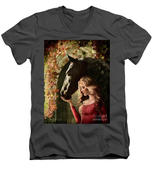 A Secret Passage Men's V-Neck T-Shirt