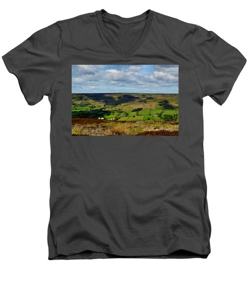 A Sheep's Life Men's V-Neck T-Shirt